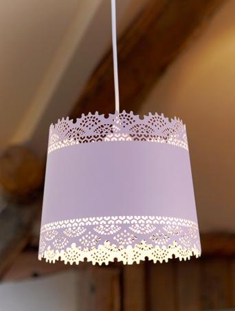 white lace lighting