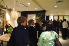 Kravet showroom crowd for Thom Filcia's book signing