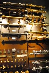 Fantastic hardware in the Houlès showroom