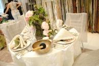 JAB Anstoetz showroom table setting by Alla Akimova