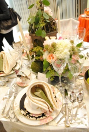 JAB Anstoetz showroom table setting by Alla Akimova