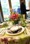 JAB Anstoetz showroom table setting by Tara Seawright