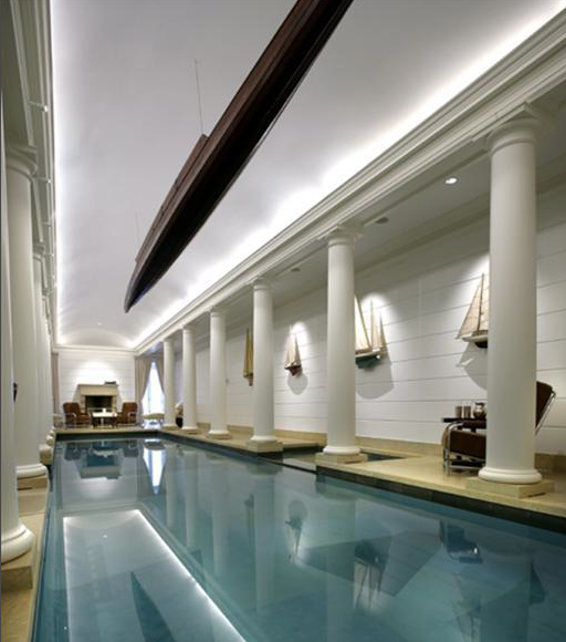 Spectacular Indoor Pool