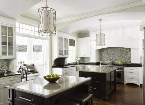 kitchen with two islands dhotw stunning work by morgante wilson architects 6557