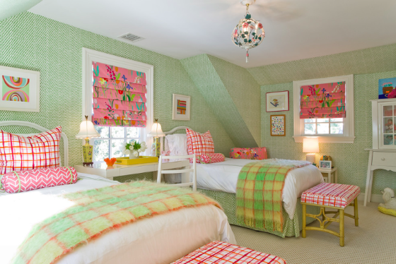 Katie Rosenfield Interiors, Adorable for a girls room