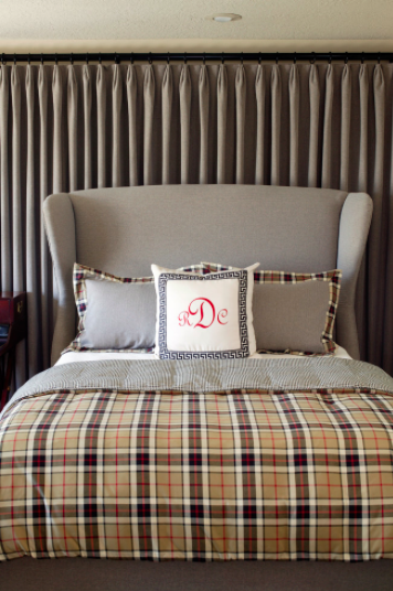 Tobi Fairley Interior Design, Plaid Delicious