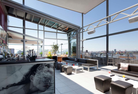 NYC Rooftop Bar Gansevoort Hotel