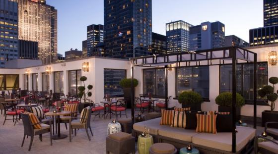 Salon de Ning Peninsula NYC Rooftop Bar