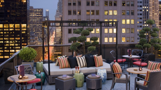 The Peninsula NYC Salon De Ning Rooftop Bar