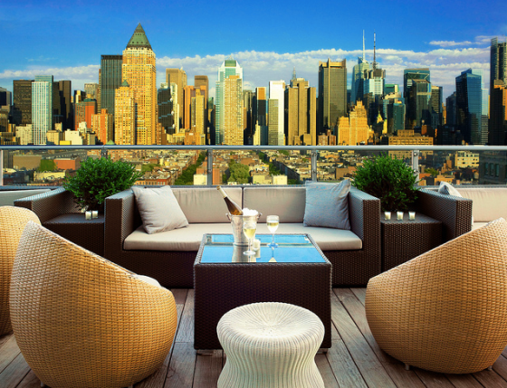 The Press Lounge Ink48 Rooftop Bar NYC