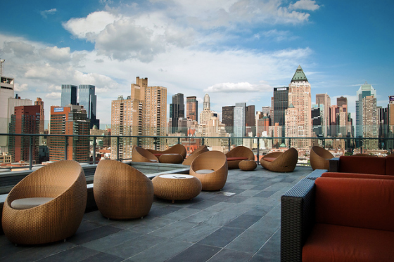 The Press Lounge Rooftop Bar NYC