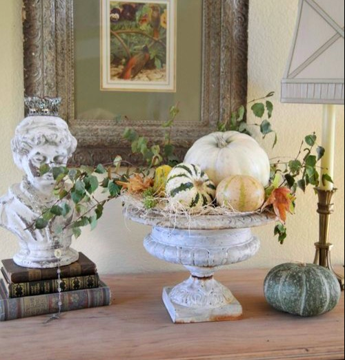 fall colors decor