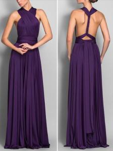 purple. dress, sexy, back, classy, bridesmaid
