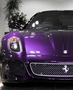 purple, car, Ferrari, GTO, luxury