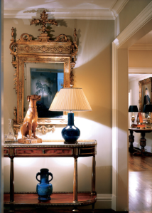Ellsworth Ford Associates uses the whippet in a beautiful Foyer.