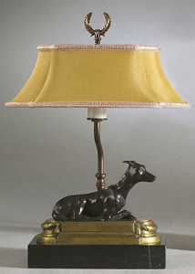 This lamp is sure to light up your room.